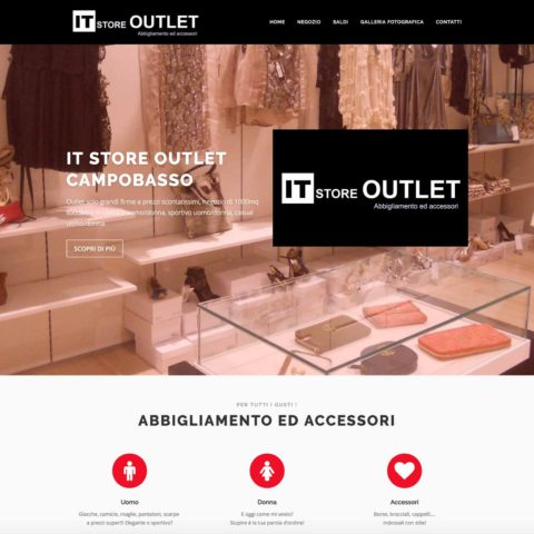 it store outlet campobasso