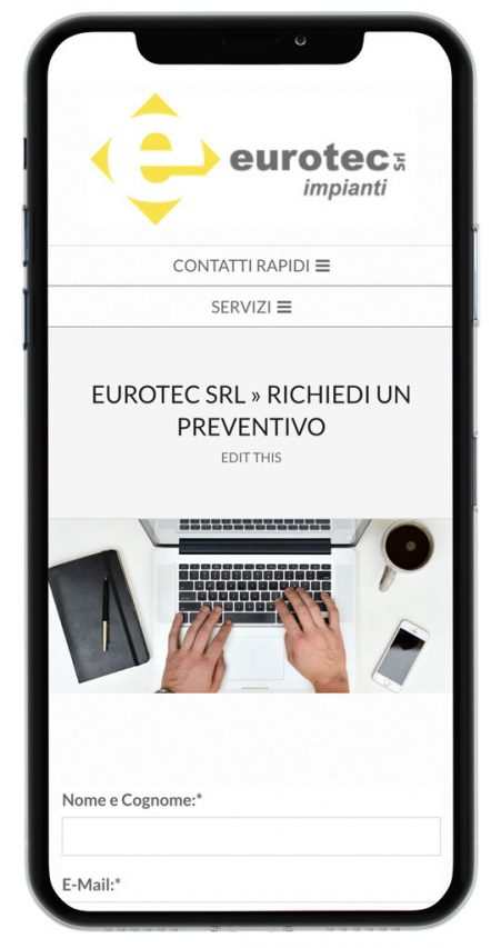 eurotec campobasso mobile think solutions sito web